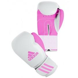 Γάντια πυγμαχίας ADIDAS Response (ADIBT01) ροζ/λευκά