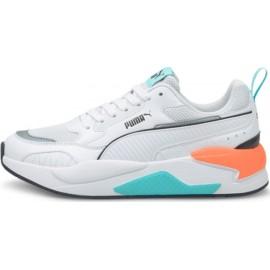 Puma X-Ray 2 Square Γυναικεία Παπούτσια 373108-17 Puma White-Puma White-ARUBA BLUE-Puma Black