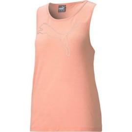 Αμάνικο γυναικείο T-shirt PUMA RTG Layer Tank 586452-26 Apricot blush