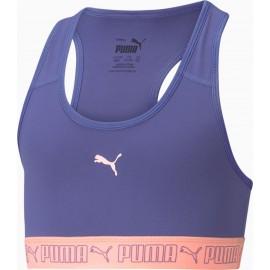 Puma Puma παιδικό μπουστάκι RUNTRAIN YOUTH CROP TOP 587168-14 μωβ/σομόν