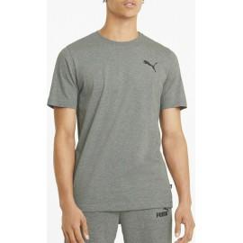 Puma Essentials Small Logo Ανδρικό T-Shirt 586668-53 Medium Gray