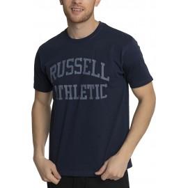 Ανδρική κοντομάνικη μπλούζα T-SHIRTS   TOP RUSSELL ATHLETIC AL-S/S CREWNECK TEE SHIRT RUSSELL ATHLETIC A1-083-1-290 N2 NAVY
