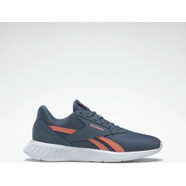 REEBOK LITE 2.0 SHOES FY9898 Brave Blue / Twisted Coral / White