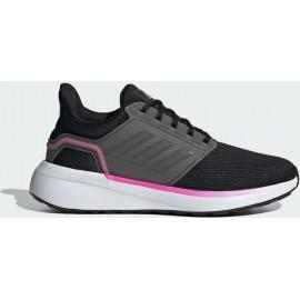ΓΥΝΑΙΚΕΙΑ ΠΑΠΟΥΤΣΙΑ adidas Performance Women's EQ19 Run (H00933) Core Black/Iron Metallic/Screaming Pink