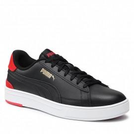 Puma Smash Pro Ανδρικά Παπούτσια Puma Black-Red-Gold 380188-06