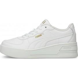 Γυναικεία Sneakers Puma Wedge Tennis Low 380750-01 Λευκο