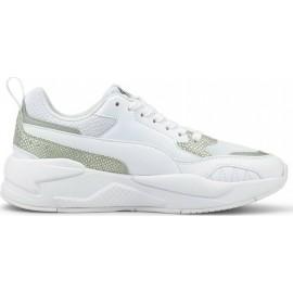 Γυναικεία Παπούτσια Puma X-Ray² Square Snake Premium 382788-01 Puma White-Puma White-Puma Silver
