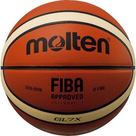 Μπάλα μπάσκετ molten BGL7X indoor FIBA OFFICIAL match ball indoor genuine leather