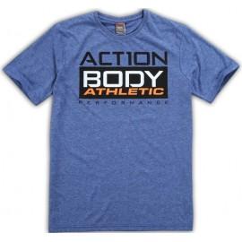 Ανδρικό αθλητικό μπλουζάκι από την BODYACTION (053601 15)