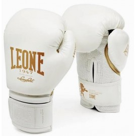 Γάντια προπόνησης Leone WHITE BOXING GLOVES GN059