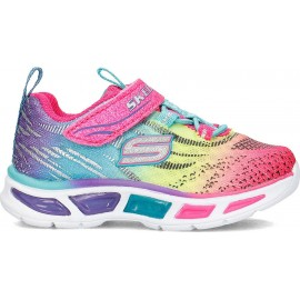 ΠΑΠΟΥΤΣΙ ΒΕΒΕ Ombre & 3D Print Lighted Gore & Strap SKECHERS (10667N MLT)