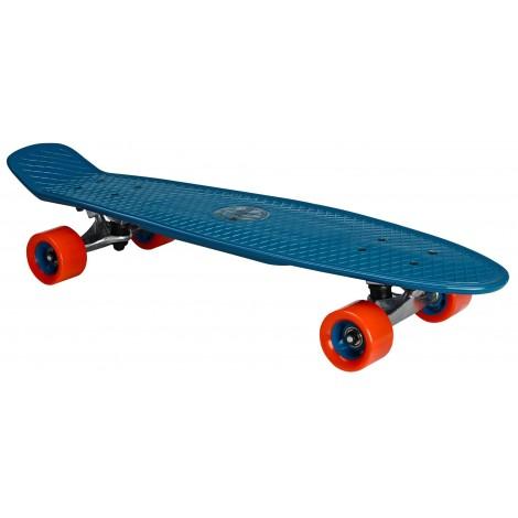 """Skateboard Plastic (28"""") Nijdam ( 52NH-BLR ) Blue"""