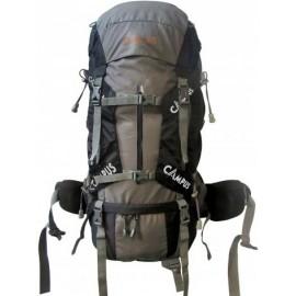 Τσάντα πλάτης Campus Peak 65lt (810 9654 10/14 Grey/Black)