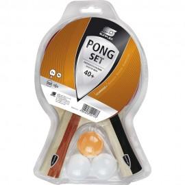 Ρακέτα πινγκ πονγκ SUNFLEX Σετ Pong (2 ρακέτες + 3 μπαλάκια) (97230)
