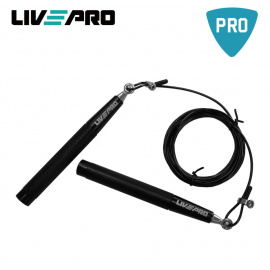 Σχοινάκι Ταχύτητας Live Pro Premium μαύρο (Β 8283 b)